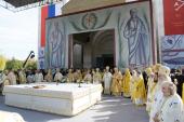 Предстоятели Поместных Православных Церквей совершили Божественную литургию в городе, где родился святой равноапостольный Константин Великий