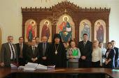Состоялась торжественная передача Русской Православной Церкви исключительных прав на архитектурные проекты храмовых комплексов