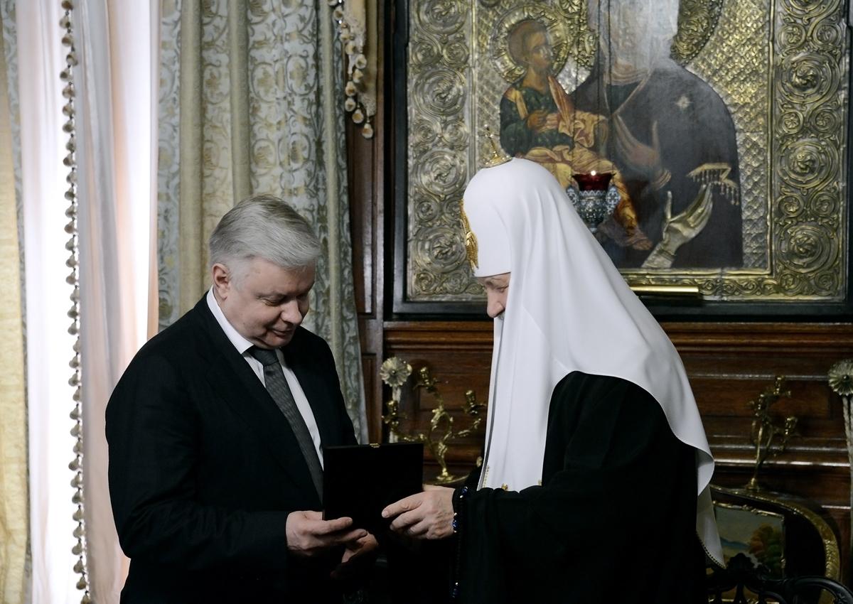 Подписание Соглашения о взаимодействии Русской Православной Церкви и Федеральной миграционной службы
