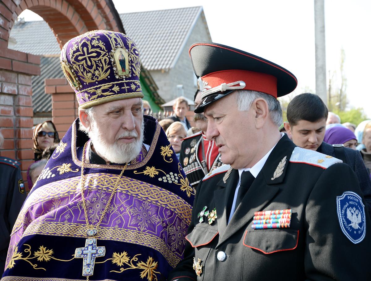 Патриаршее служение в храме Архангела Михаила г. Крымска