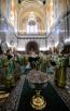 Всенощное бдение в Храме Христа Спасителя в канун праздника Входа Господня в Иерусалим