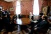 Встреча Святейшего Патриарха Кирилла с царем болгар Симеоном II
