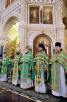 Патриаршее служение в праздник Входа Господня в Иерусалим в Храме Христа Спасителя. Хиротония архимандрита Ферапонта (Кашина) во епископа Макарьевского