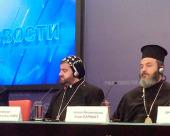 В Москве состоялась пресс-конференция «Сирия: христиане в огне войны» с участием сирийских иерархов