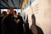 Святейший Патриарх Кирилл внимательно ознакомился с ходом восстановительных работ в Старом Русике