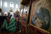 Предстоятель Русской Церкви молился в Андреевском скиту на Святой Горе Афон
