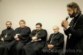 Клирики и миряне Санкт-Петербургской митрополии обсудили проект Межсоборного присутствия «О подготовке ко Святому Причащению»