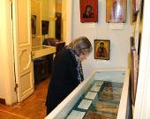 В НИИ реставрации проходит выставка икон из собрания Церковно-археологического музея ПСТГУ