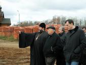 Состоялось выездное совещание по вопросам строительства новых храмов в Северо-Западном округе Москвы