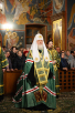 Посещение Святейшим Патриархом Кириллом Оптиной пустыни. Наречение архимандрита Серапиона (Колосницина) во епископа Кокшетауского и Акмолинского