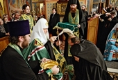 Святейший Патриарх Кирилл возглавил наречение архимандрита Серапиона (Колосницина) во епископа Кокшетауского и Акмолинского
