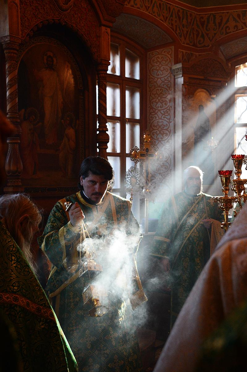 Посещение Святейшим Патриархом Кириллом Оптиной пустыни. Освящение Введенского собора. Хиротония архимандрита Серапиона (Колосницина) во епископа Кокшетауского и Акмолинского