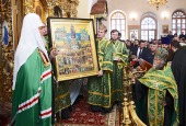 Слово Святейшего Патриарха Кирилла в день памяти преподобного Амвросия Оптинского во Введенском соборе Оптиной пустыни