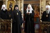 Слово Святейшего Патриарха Кирилла в Благовещенском храме г. Козельска
