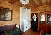 Святейший Патриарх Кирилл посетил Иоанно-Предтеченский скит Оптиной пустыни