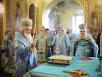 Патриаршее служение в Троицком соборе г. Подольска