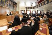 Святейший Патриарх Кирилл принял участие в торжественном заседании Священного Синода Элладской Православной Церкви