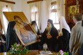 Состоялась встреча Предстоятеля Русской Православной Церкви с членами Эпистасии Святой Горы Афон