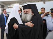 Начался официальный визит Святейшего Патриарха Кирилла в Элладскую Православную Церковь