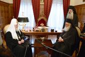 В Афинах состоялась встреча Предстоятелей Русской и Элладской Православных Церквей