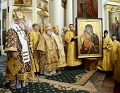 Слово Святейшего Патриарха Кирилла по окончании Литургии в Троицком соборе Данилова монастыря в день празднования 30-летия возрождения обители