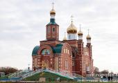 Митрополит Астанайский Александр освятил новый храм в Костанайской области Казахстана