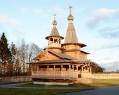 Святейший Патриарх Кирилл освятил в Подмосковье храм вблизи деревни Борки