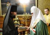 Слово архимандрита Алексия (Муляра) при наречении во епископа Саянского и Нижнеудинского