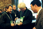 От имени Национального совета церквей в Корее дан прием в честь делегации Русской Православной Церкви
