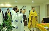 Митрополит Волоколамский Иларион совершил Божественную литургию в Генеральном консульстве РФ в Пусане