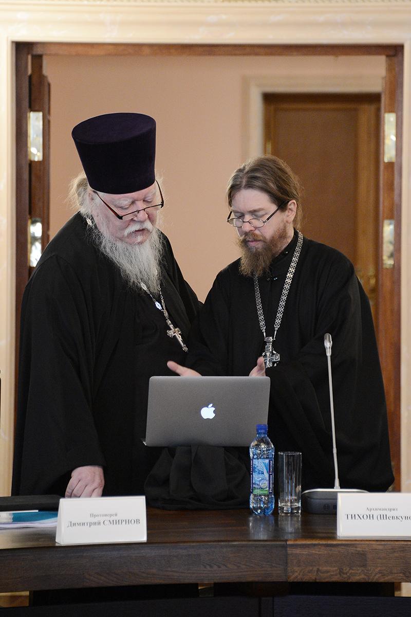 Заседание Высшего Церковного Совета Русской Православной Церкви 12 апреля 2013 года