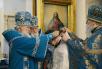 Патриаршее служение в храме в честь иконы Божией Матери «Всех скорбящих Радость» на Большой Ордынке. Хиротония архимандрита Иоанна (Коваленко) во епископа Калачевского и Палласовского