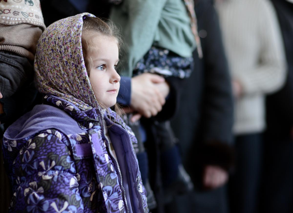 Патриаршее служение в четверг первой седмицы Великого поста в Борисоглебском Аносином женском монастыре