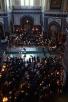 Патриаршее служение в понедельник первой седмицы Великого поста. Чтение канона прп. Андрея Критского в Храме Христа Спасителя