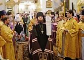 Слово Святейшего Патриарха Кирилла при вручении архиерейского жезла Преосвященному Каллистрату (Романенко), епископу Горноалтайскому и Чемальскому
