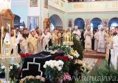 Состоялось отпевание настоятельницы Иоанновского ставропигиального монастыря г. Санкт-Петербурга схиигумении Серафимы (Волошиной)