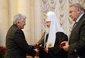 Святейший Патриарх Кирилл возглавил церемонию вручения Макариевских премий за 2012/2013 годы