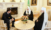 Святейший Патриарх Кирилл встретился с губернатором Челябинской области М.В. Юревичем