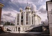 Получено разрешение на возведение храма Новомучеников и исповедников Российских в Сретенском монастыре