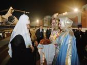 Предстоятель Русской Православной Церкви прибыл в Калининградскую епархию