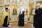 Предстоятель Русской Церкви посетил храм свв. Космы и Дамиана в Калининграде