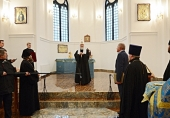 Святейший Патриарх Кирилл посетил в Калининграде храм свв. Захарии и Елисаветы