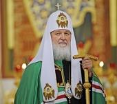 Проповедь Святейшего Патриарха Кирилла по окончании Литургии в кафедральном соборе Христа Спасителя г. Калининграда