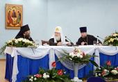 Святейший Патриарх Кирилл провел епархиальное собрание Калининградской епархии