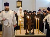 Предстоятель Русской Церкви совершил литию по жертвам авиакатастрофы в Казани