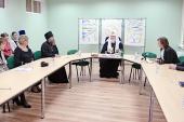 Святейший Патриарх Кирилл встретился с участниками и победителями конкурса «Православная инициатива» от Калининградской епархии