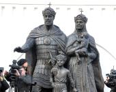 В Москве открыт памятник благоверному князю Димитрию Донскому и преподобной Евфросинии Московской