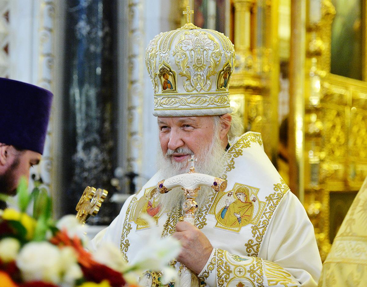 День рождения Патриарха Кирилла.