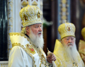 Слово Святейшего Патриарха Кирилла по окончании Литургии в храме Христа Спасителя 20 ноября 2013 года