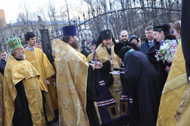 Открытие памятника благоверному князю Димитрию Донскому и преподобной Евфросинии Московской в Москве